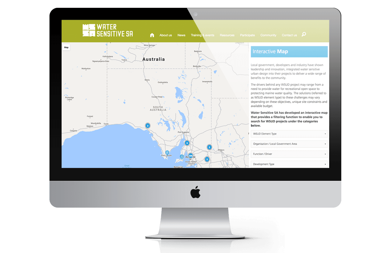 Water Sensitive SA - Case Studies Page